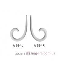 Орнамент Art Decor Комплект A 694 L/R (2шт)