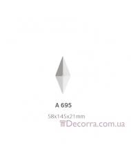 Орнамент Art Decor Комплект A 695 (4шт) A 698 (1шт)