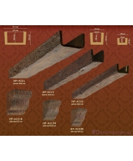 Декоративная балка из полиуретана Classic home HP-4221