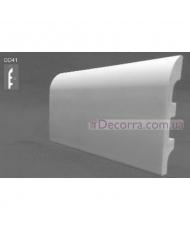 Напольный плинтус гладкий Decor dizayn DD41