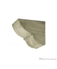 Консоль для декоративных балок Decowood Модерн ED 015 classic белая 19х17