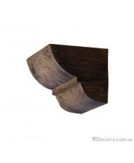 Консоль для декоративных балок Decowood Модерн ED 015 classic темная 19х17