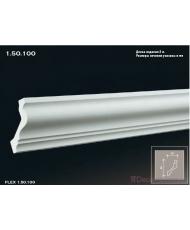 Карниз гибкий Европласт K-100 (FLEX 1.50.100)
