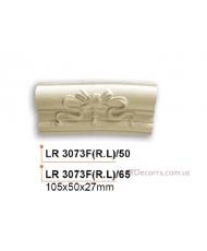Молдинг для стен радиусный Gaudi Decor LR 3073F(RL)50