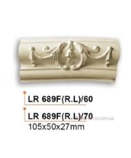 Молдинг для стен радиусный Gaudi Decor LR 689F(RL)60