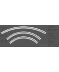 Молдинг для стен радиусный Modus decor МР 012,01