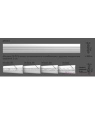 Молдинг для стен с орнаментом Modus decor М 022