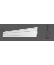 Напольный плинтус гладкий Modus decor П 001