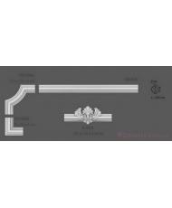 Уголки и вставки Modus decor В 004