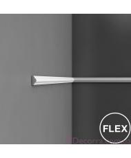 Молдинг для стен гибкий Orac decor Axxent PX103F