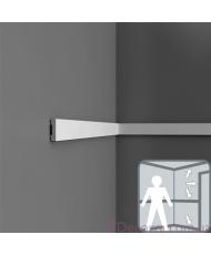 Молдинг для стен гибкий Orac decor Axxent DX162F