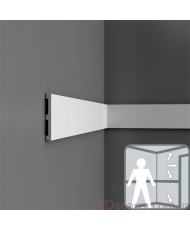 Молдинг для стен гибкий Orac decor Axxent DX163F