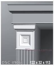 Декоративное обрамление для дверей Perimeter DSC 4906B