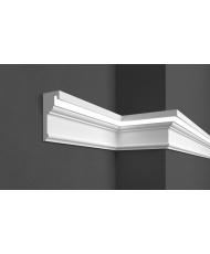 Карниз для фасада LED скрытого освещения Prestige decor KC 308LED (2.00м)
