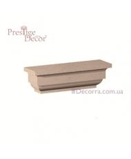 Колонна для фасада Prestige decor PC 107 капитель