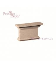 Колонна для фасада Prestige decor PC 110 капитель
