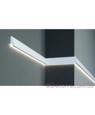 Молдинг для стен фасадный LED скрытого освещения Prestige decor MC 302LED (2.00м)