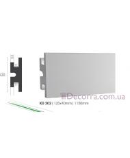 Карниз LED скрытого освещения Tesori KD302