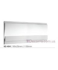 Карниз LED скрытого освещения Tesori KD404
