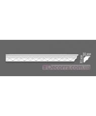 Потолочный багет Villa Deco 08 G 30x30 мм