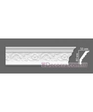Потолочный багет Villa Deco 13 G 50x80 мм