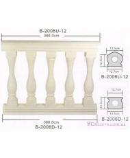 Балюстрады и балясины Classic home (Вип-декор) B2006D12 (Fe)