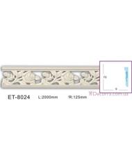 Молдинг для стен фоновые Classic home (Вип-декор) ET8024