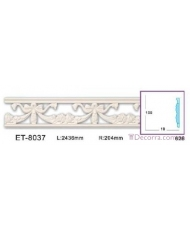Молдинг для стен фоновые Classic home (Вип-декор) ET8037