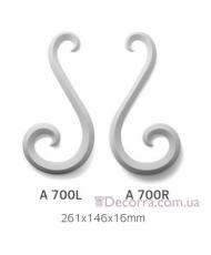 Орнамент Art Decor Комплект A 700 L/R (2шт)