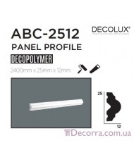Молдинг гладкий Decolux ABC2512
