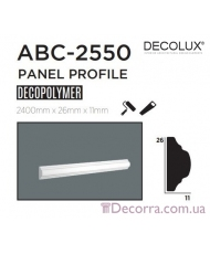 Молдинг гладкий Decolux ABC2550