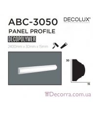 Молдинг гладкий Decolux ABC3050