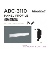 Молдинг гладкий Decolux ABC3110