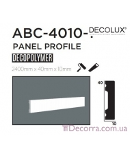 Молдинг гладкий Decolux ABC4010