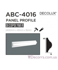 Молдинг гладкий Decolux ABC4016