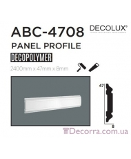 Молдинг гладкий Decolux ABC4708