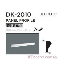 Молдинг гладкий Decolux DK2010