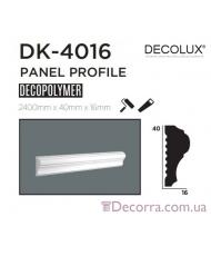 Молдинг гладкий Decolux DK4016