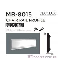 Молдинг гладкий Decolux MB8015