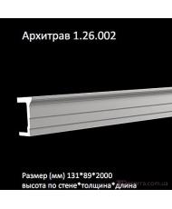 Европласт Архитрав (1.26.002)