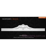 Декоративное обрамление для дверей Европласт 1.54.014
