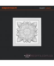 Декоративное обрамление для дверей Европласт 1.54.017
