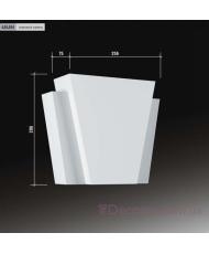 Декоративное обрамление для дверей Европласт 4.85.004