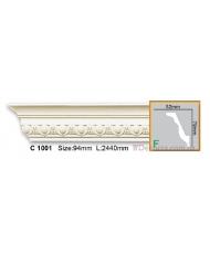 Карниз гибкий Gaudi Decor C 1001 (2,44м) Flexi