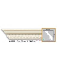 Карниз гибкий Gaudi Decor C 1008 (2,44м) Flexi