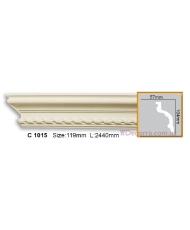 Карниз гибкий Gaudi Decor C 1015 (2,44м) Flexi