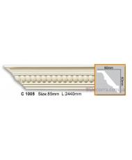 Карниз гибкий Gaudi decor C 1005 (2,44м) Flexi