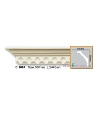 Карниз гибкий Gaudi decor C 1007 (2,44м) Flexi