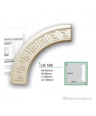 Молдинг для стен радиусный Gaudi decor LR 169 акция