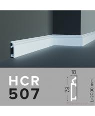 Напольный плинтус гладкий Grand decor HCR 507 (2,00м)